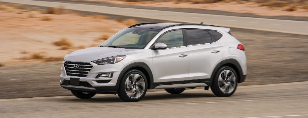 The 2021 Hyundai Tucson offers two efficient powertrains.