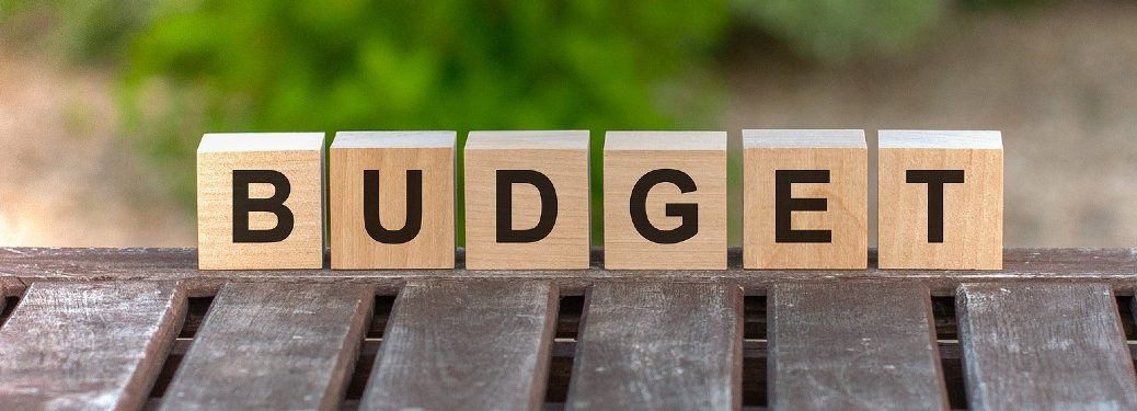 """Wood blocks put together to spell the word """"Budget"""""""