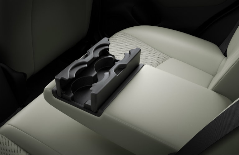 mazda cx-3 fold down armrest and cup holders