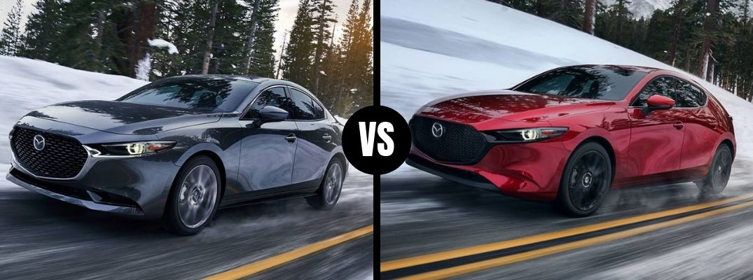 What's the Difference Between the Sedan and Hatchback Models of the 2019 Mazda3?