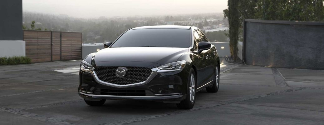 front view of the 2021 Mazda 6