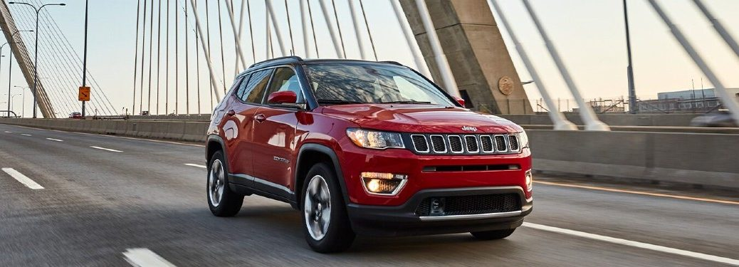 2021 Jeep Compass on bridge