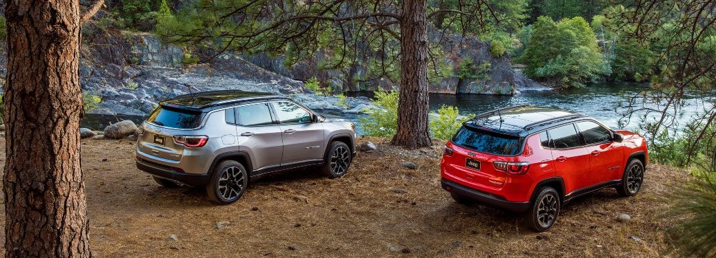 2021 Jeep Compass by river