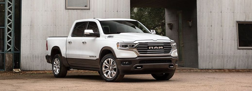 2021 RAM 1500 from exterior front