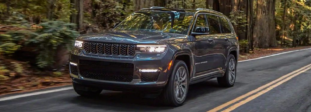 2021 Jeep Grand Cherokee L from exterior front