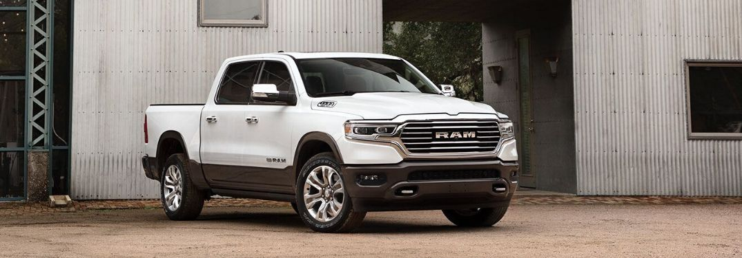 How big is the display in the 2021 RAM 1500?