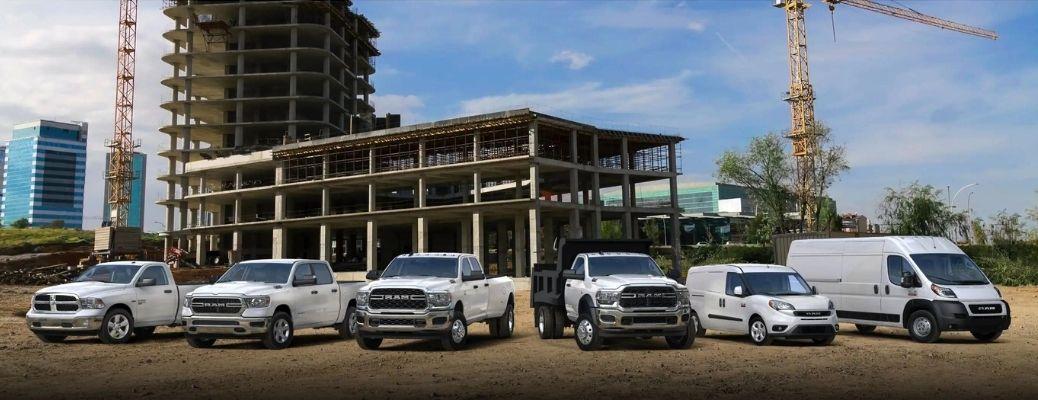 2021 RAM Commercial Lineup
