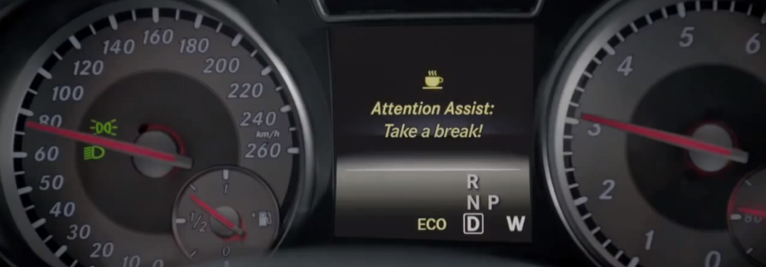 The Mercedes-Benz ATTENTION ASSIST® System Can Detect and Alert You to Drowsy Driving
