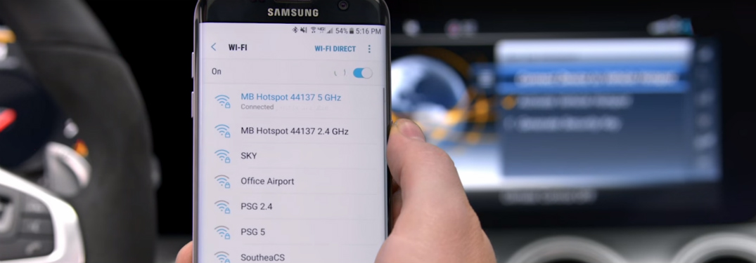 Use the Wi-Fi In Your Mercedes-Benz for Fast and Reliable Internet Connection