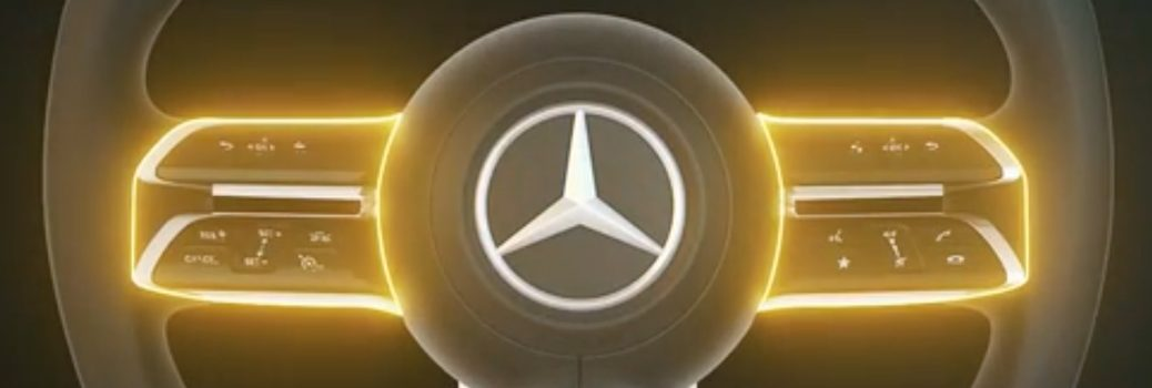 Mercedes-Benz E-Class Coupe Cabriolet Steering Wheel Simulation