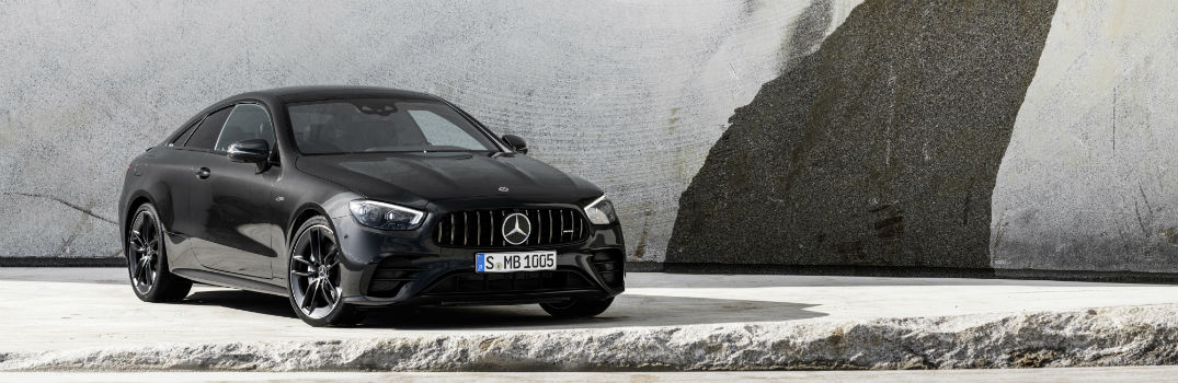 What's new in the 2021 Mercedes-AMG<sup>®</sup> E 53 Coupe and Cabriolet?