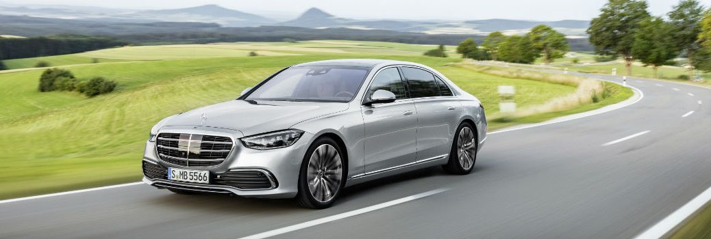 2021 Mercedes-Benz S-Class Sedan Exterior Driver Side Front Profile