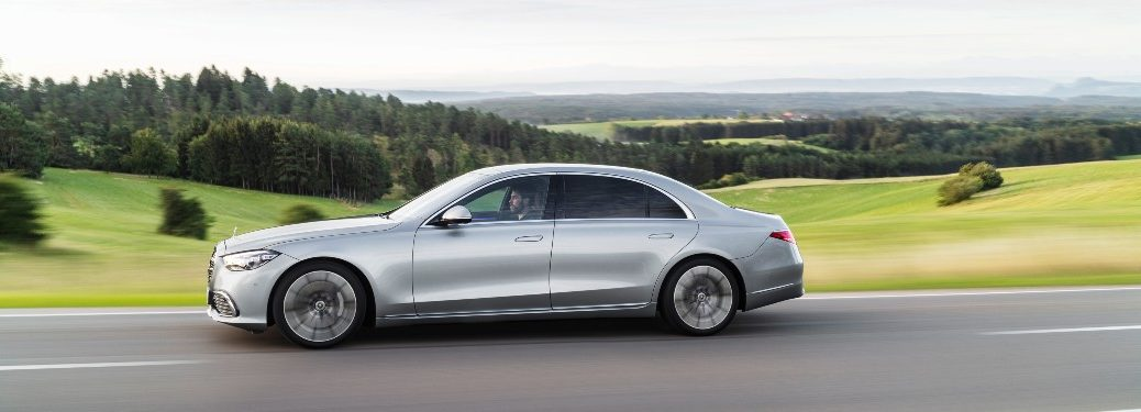 2021 Mercedes-Benz S-Class from driver's side