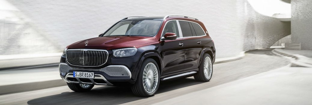 2021 Mercedes-Maybach GLS 600 4MATIC Exterior Driver Side Front Profile