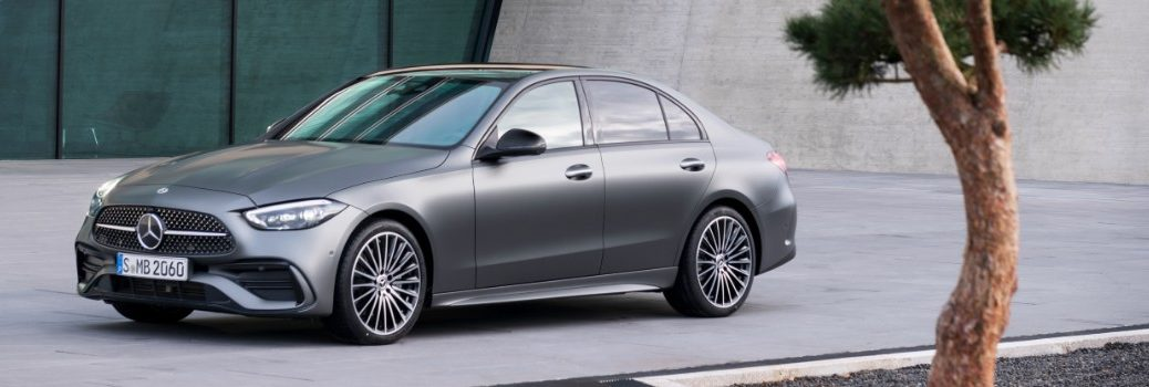 New Mercedes-Benz C-Class Exterior Driver Side Front Profile