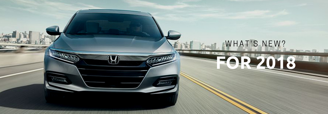 Find Out What's New for Your Favorite Honda Models In 2018