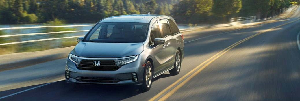 2021 Honda Odyssey Exterior Driver Side Front Angle