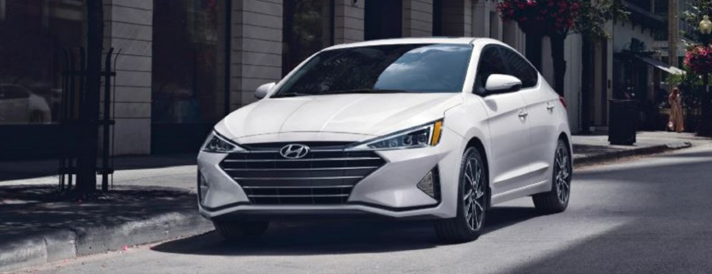 2020 Hyundai Elantra front driver side parked side of street