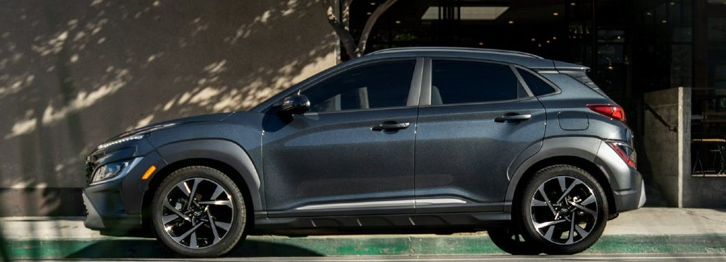 2022 Hyundai Kona driver side parked on side of road