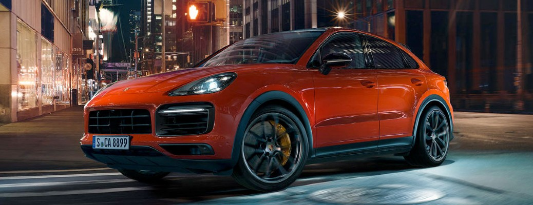 side view of the 2020 Porsche Cayenne