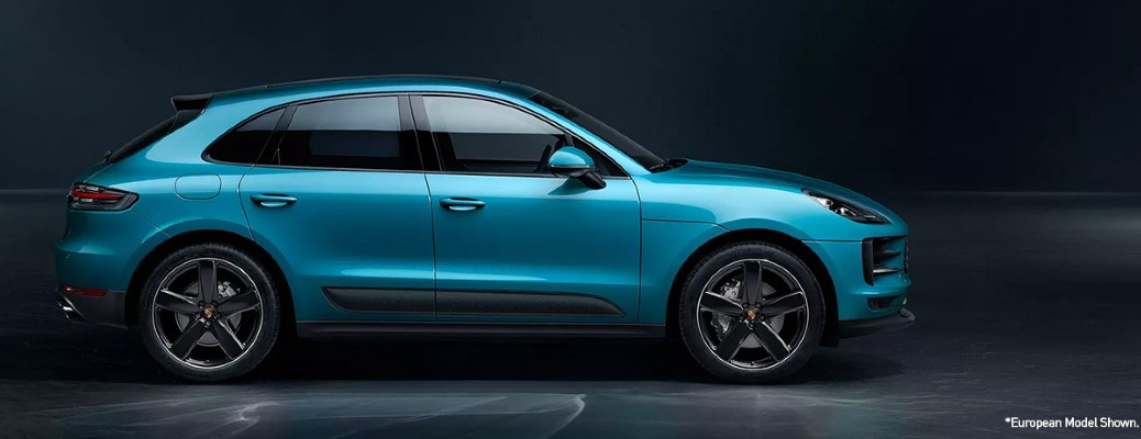 side view of the 2020 Porsche Macan