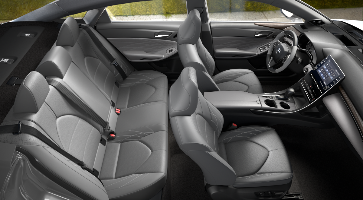 what color options are available on the interior and exterior of the 2020 toyota avalon exterior of the 2020 toyota avalon