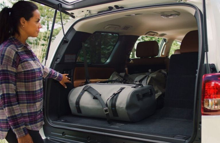 how much interior cargo space does the 2020 toyota sequoia offer 2020 toyota sequoia offer