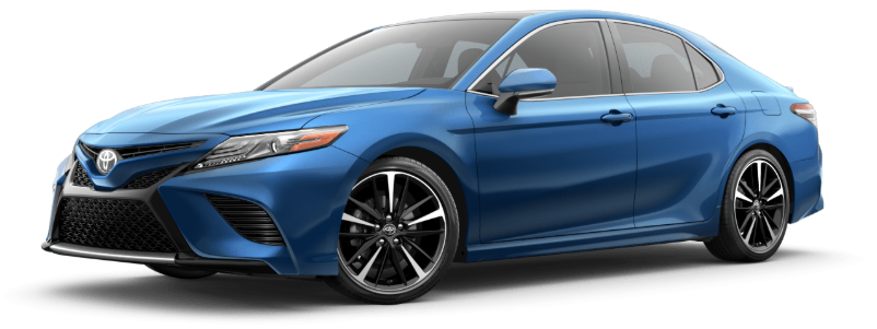 2020 Toyota Camry in Blue Streak Metallic