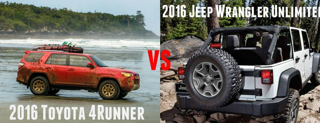4Runner vs Wrangler Unlimited