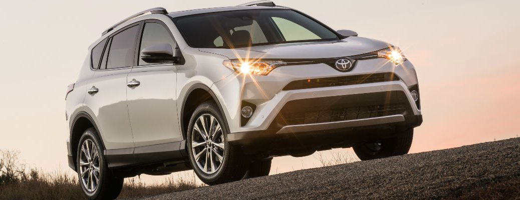 Color options of the 2016 Toyota RAV4