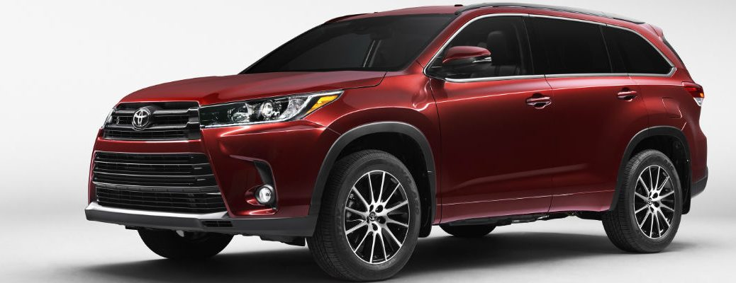 Changes to the 2017 Toyota Highlander