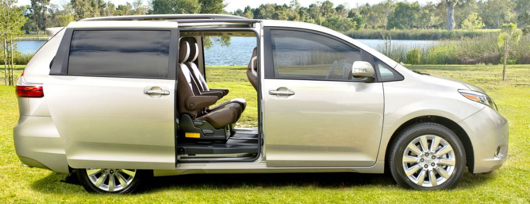 New features of the 2016 Sienna