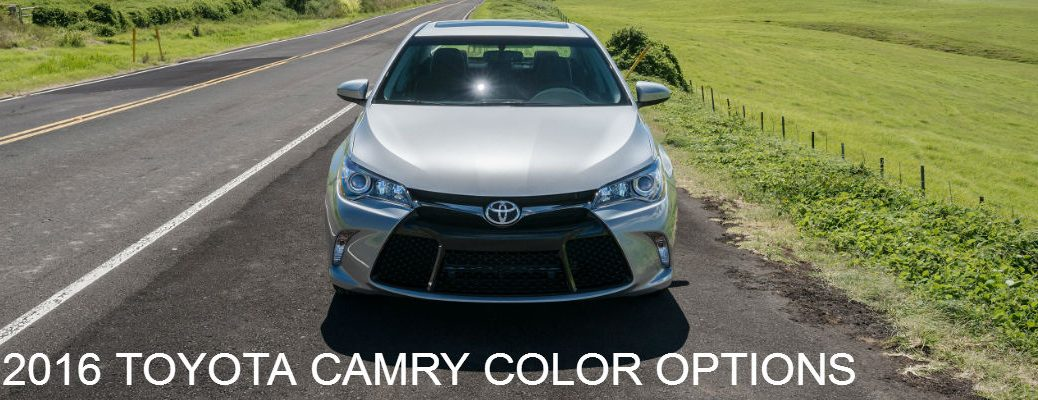 2016 Camry Colors