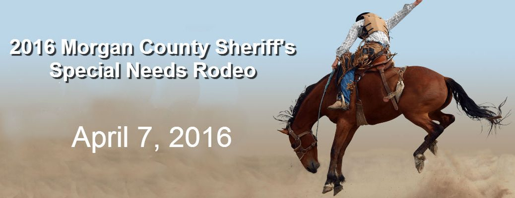 Morgan County Sheriff's 2016 Special Needs Rodeo