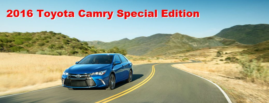 2016 Camry Special Edition Specs
