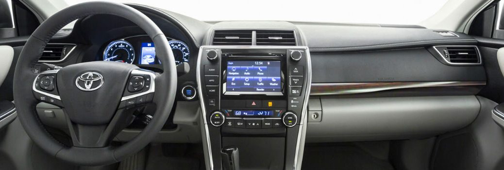 Toyota Entune voice recognition