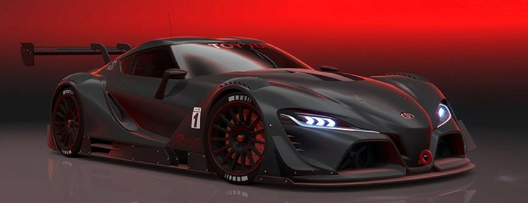 Is the Toyota FT-1 going to be featured in Gran Turismo Sport