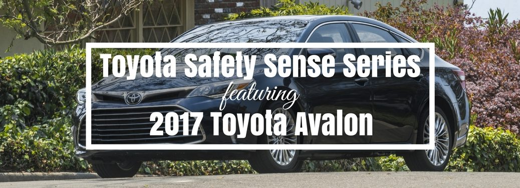 2017 Toyota Avalon standard safety features