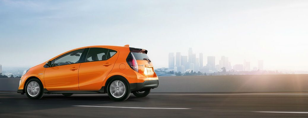 2017 Toyota Prius C Safety Technology and Design Features