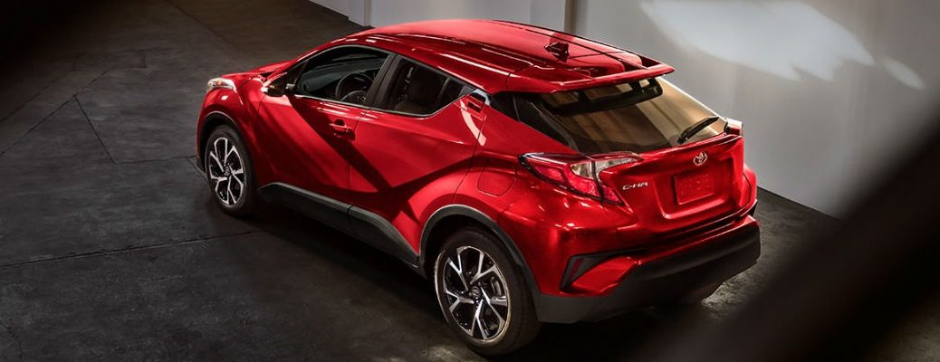 2018 Toyota C-HR XLE Trim Technology, Design and Safety Specifications