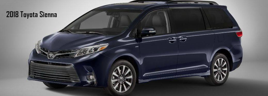 2018 Toyota Sienna Design, Technology and Convenience Upgrades