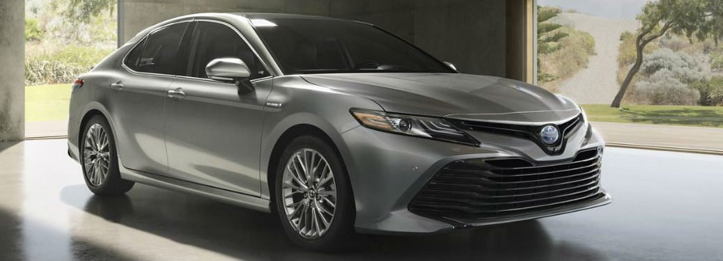 2018 Toyota Camry Exterior View in Silver