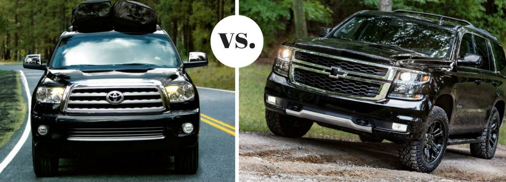 Pros and Cons of the 2017 Toyota Sequoia vs the 2017 Chevrolet Tahoe