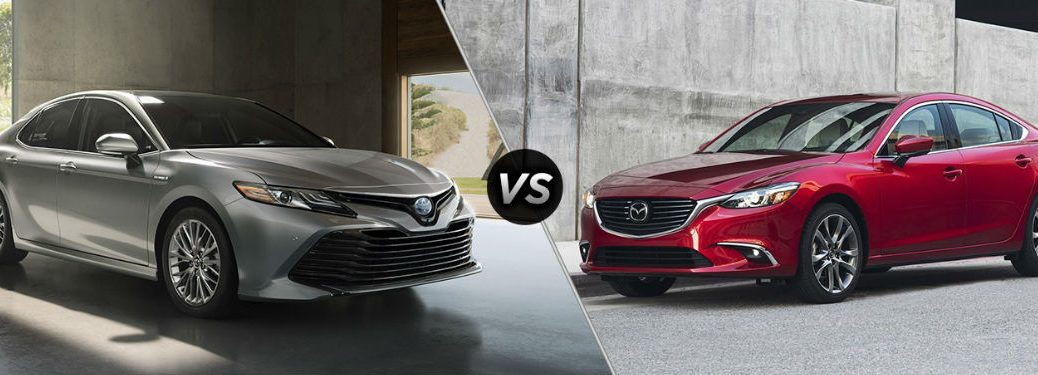 Similarities and Differences between the 2018 Toyota Camry vs the 2017 Mazda6