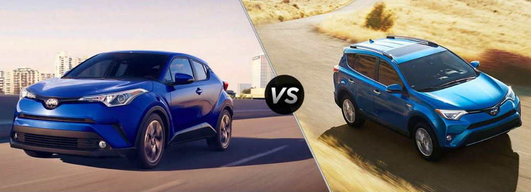 2017 Toyota RAV4 vs 2018 Toyota C-HR Comparison