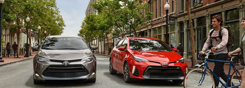 2018 Toyota Corolla Safety Technology and Fuel Economy Ratings
