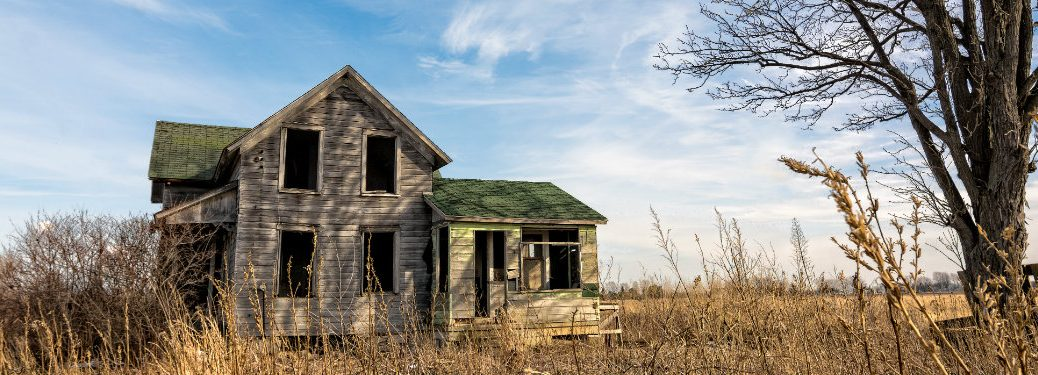 Real Haunted Houses and Paranormal Places near Morgan County