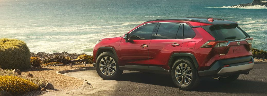 2019 Toyota RAV4 Exterior View in Red