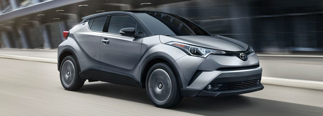 2019 Toyota C-HR in gray