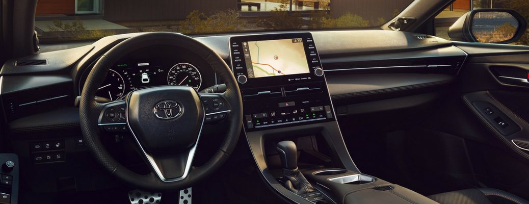 2019 Toyota Avalon Driver Side View of Front Cabin